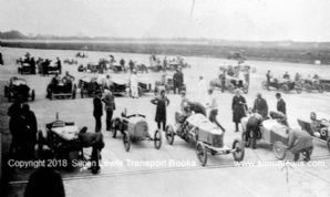 BROOKLANDS 200 Miles Race 1921  Frazer Nash GN,Epsom AV, Philipps Deemster ,Toppings Peugeot, Morgan